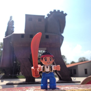Jake the Mascot at Troy